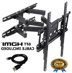 Full Motion TV Wall Mount LCD LED Articulating Bracket 32 -