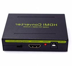 HDMI Audio Extractor,Parallel World HDMI Audio Extractor to