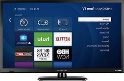 "Insignia- 24"" Class  - LED - 720p - Smart - HDTV Roku TV - B"
