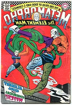 METAMORPHO #13, VG-, Elemental Man, Element Girl, 1965 1967,
