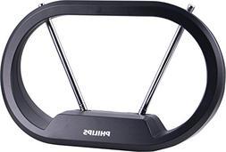 Philips | HD Loop Passive TV Antenna - Sleek Modern Design w