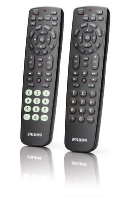 Philips SRC2063/27 Universal Remote Control Value Two-Pack w