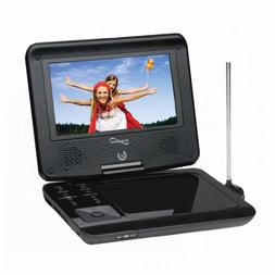 """Supersonic SC-257A 7"""" Portable DVD Player with Digital TV &"""