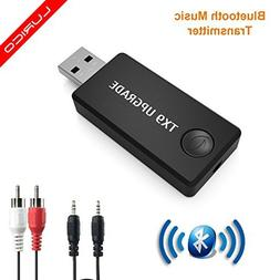 Bluetooth Transmitter,LURICO 3.5mm Portable Stereo Audio Wi