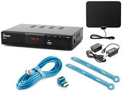 Viewtv AT-163 ATSC Digital TV Converter Box Bundle with View