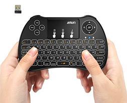 YUN TANG a41 Rupa H9 2.4 G Backlit Mini Keyboard Wireless Ai