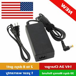 """AC Adapter For Samsung 24"""" T24C550ND LED HD TV Monitor Power"""