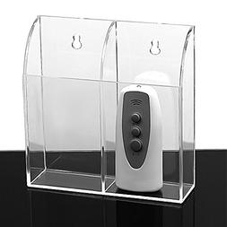MyJell Acrylic TV Remote Control Holder Wall Mount Storage B