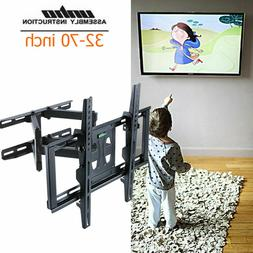 Adjustable Swivel Long Arm TV Wall Mount Bracket Universal f