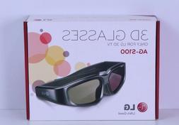 LG AG-S100 3D Active Shutter Glasses for 2010 LG 3D HDTVs, M