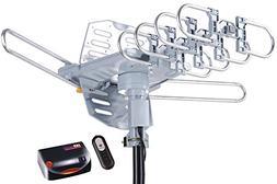 McDuory Amplified Digital Outdoor HDTV Antenna 150 Miles Lon