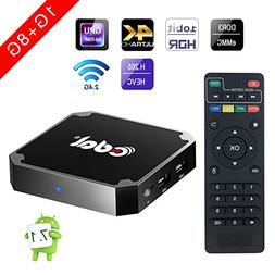 Android 7.1 tv box, Edal X96mini 1GB 8GB Amlogic Quad Core S