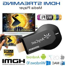 anycast wifi dongle tv 1080p airplay display