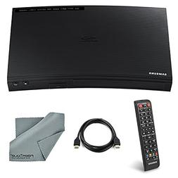 Samsung BD-J5100 1080P Curved Blu-Ray Disc Player with Remot
