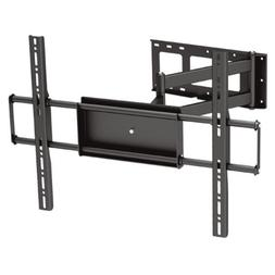 Black Full-Motion Tilt/Swivel Corner Friendly Wall Mount Bra