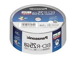 Panasonic Blu-ray BD-R Recordable Disk | 25GB 6x Speed | 30