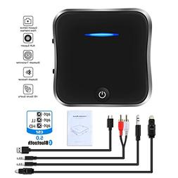 GOSTAR Bluetooth 5.0 Transmitter Receiver, 2-in-1 Wireless 3