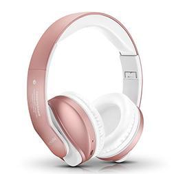 Bluetooth Headphones Over Ear, Mkay Stereo Wireless Headset