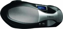 Coby Bluetooth Portable Boom Box with AM/FM Radio