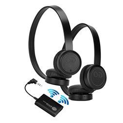 GOgroove BlueVIBE 2 TV Wireless 2 Pair Headphones Television