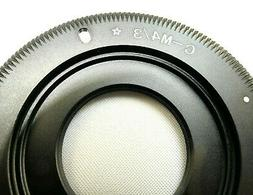 C- Mount Lens adapter to m4/3 Micro 4/3 Camera Panasonic Lum