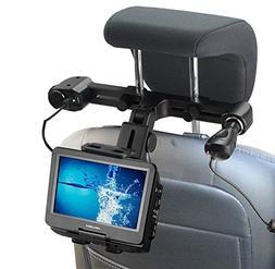 Navitech In Car Portable DVD Player Head Rest / Headrest Mou