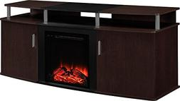 """Carson Fireplace TV Console for TVs up to 70"""", Multiple Colo"""