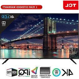 "TCL 55"" Class 6-Series 4K HDR Roku Smart LED TV 2018 Model"