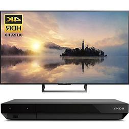 """Sony 43"""" class  4K HDR Ultra HD TV  with Sony 4K Ultra HD Bl"""