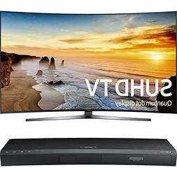 "Samsung 65"" Class KS9800 9-Series Curved 4K SUHD TV  with Sa"