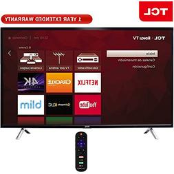TCL 49-Inch Class S-Series 4K Ultra HD Roku Smart LED TV 201