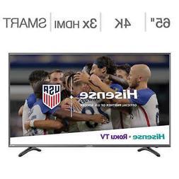 """Hisense 65"""" Class 4K Ultra HD HDR Roku TV - 65R6D"""