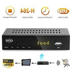 Leelbox Digital Converter Box for Analog TV 1080P ATSC Conve