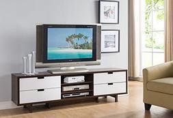 Smart home 161479 Entertainment Center TV Stand