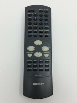 Toshiba DC-FL20S TV/DVD Player Remote Control Clicker - GENU
