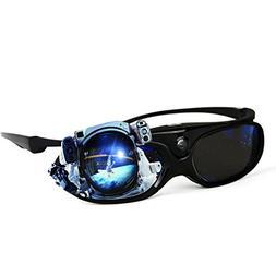 DLP Link 3D Glasses 144 Hz Ultra-Clear HD 3D Active Recharge