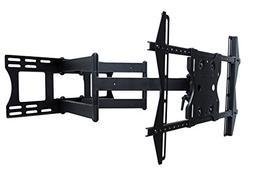 dual arm articulating weatherproof mount