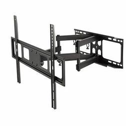 DUAL ARM SWIVEL LCD LED FULL MOTION TV WALL MOUNT BRACKET 42