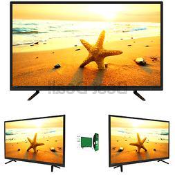 "Atyme 395AM7DVD, 40"" Class FHD, 1080P, 60 Hz, LED TV with Bu"