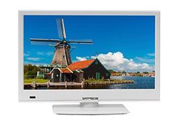 "Sceptre E165WV-SS Slim 16"" 720p LED HDTV HDMI USB VGA, DC 12"