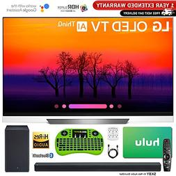 "LG 65"" E8 OLED 4K HDR AI Smart TV  with Bonus Hulu $100 Gift"