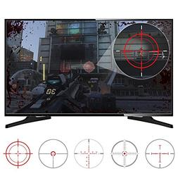 eXtremeRate?FastScope No Scope TV Decal for FPS Games on PS4