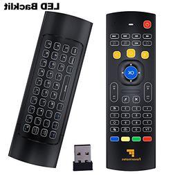 Favormates Air Remote Mouse MX3 Pro ,2.4G Backlit Kodi Remot