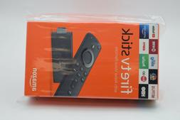 Amazon Fire TV Stick With Alexa Voice Remote Streaming Media