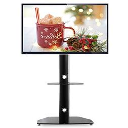 TAVR Swivel Universal Floor TV Stand with Mount Height Adjus