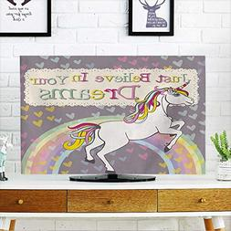 PRUNUS Front Flip Top Unicorn with a Rainbow Vector Motivati