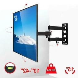 full motion tv wall mount bracket swivel