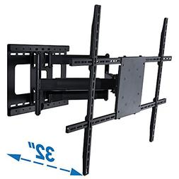 full motion tv wall mount with 32