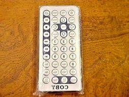 ✔Genuine COBY JX-2001B Remote Control Portable V-ZON DVD P