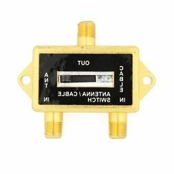 Cable N Wireless Gold Plated Coaxial A/B Switch for Splite T